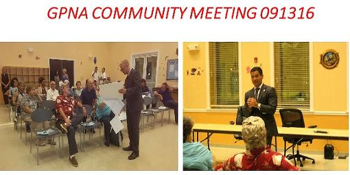 THANK YOU TO ALL WHO PARTICIPATED ON MARCH 8 GPNA COMMUNITY MEETING